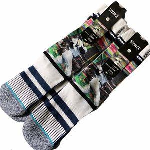 (2) Stance Classic Pique Reggie Jackson Crew Socks